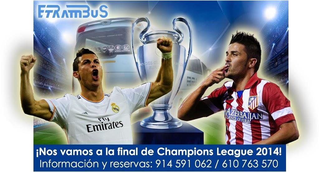 Viaja a la final de la Champions