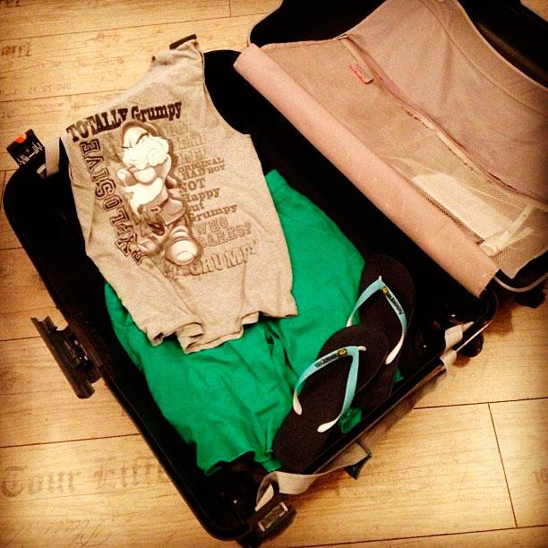 Cómo hacer la maleta para viajar en autocar