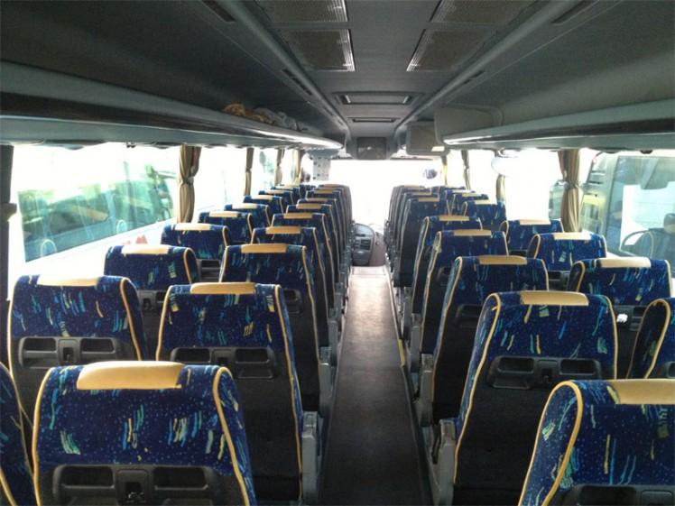 Viajar en autocar