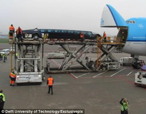 Super autobus viaje avión
