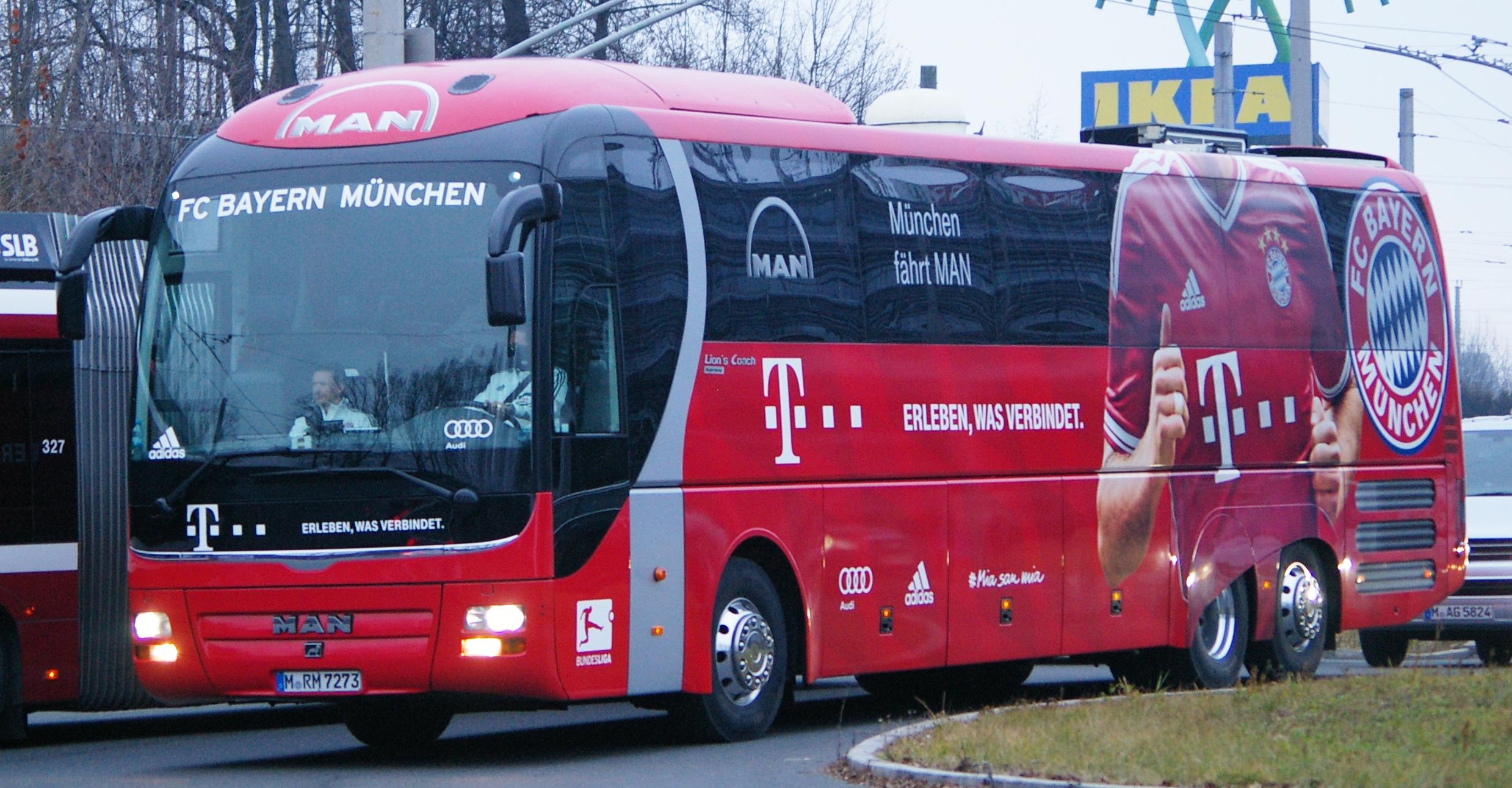 Autobús Bayern Munich