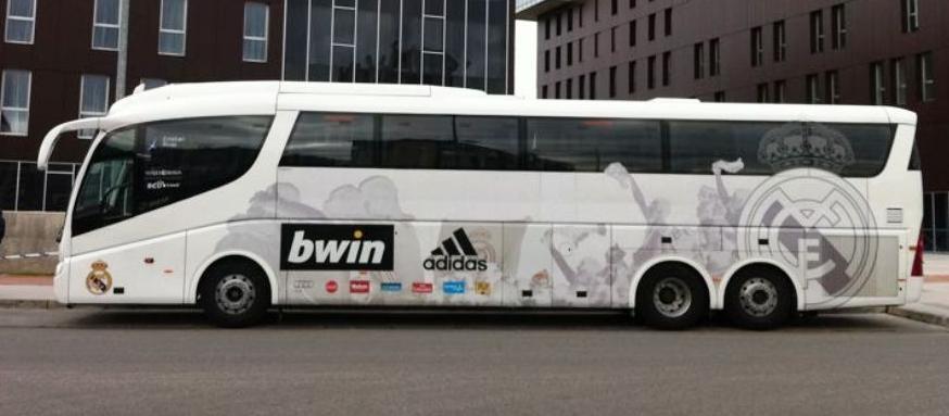 Autobús Real Madrid