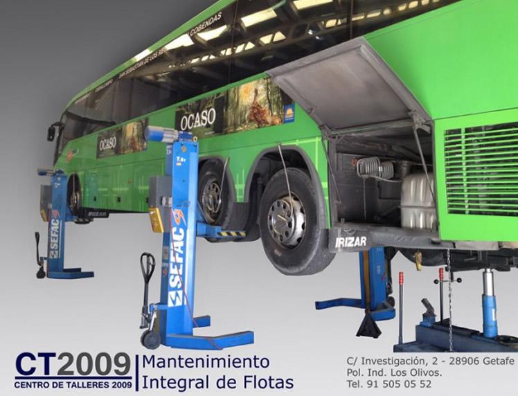 Talleres para autobuses y vehículos industriales en Madrid