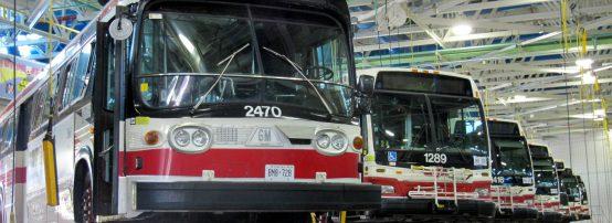mantenimiento de autobuses