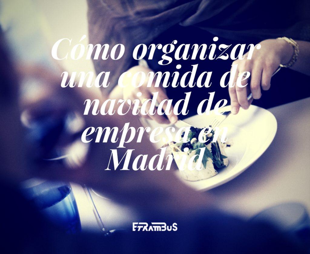 imagen destacada del artículo sobre comida de navidad de empresa en Madrid