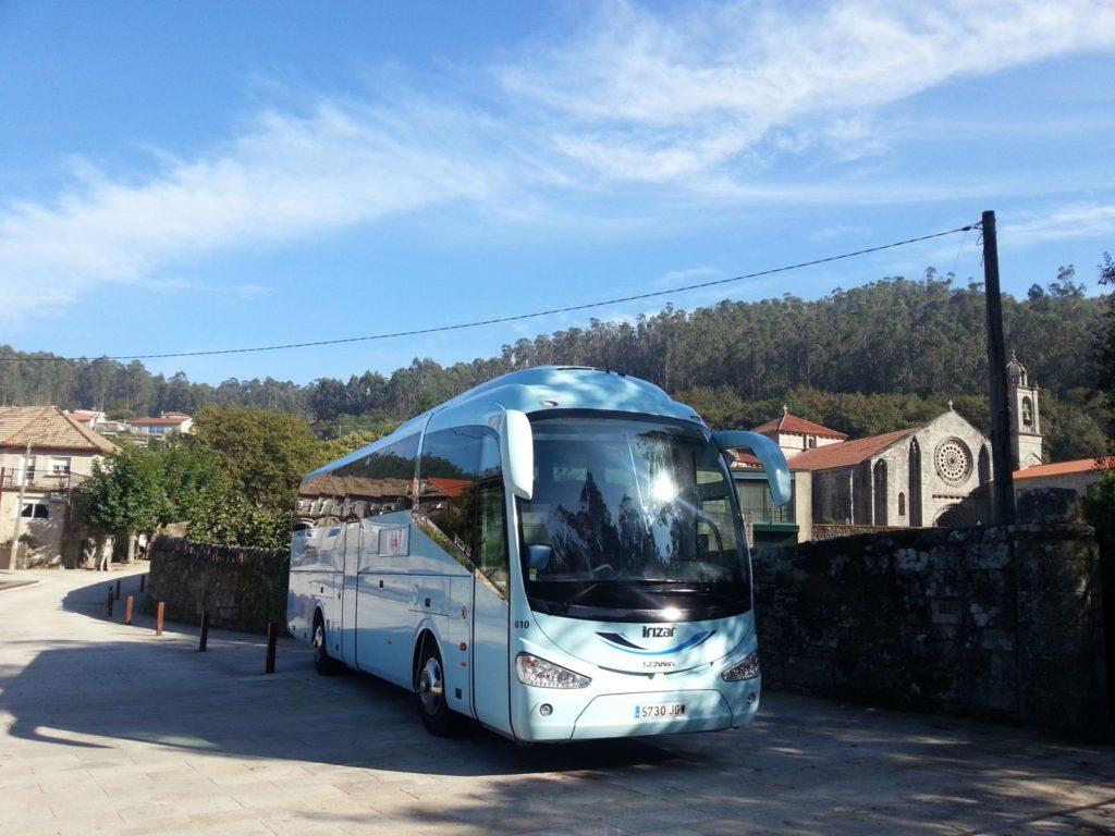 Flota para el alquiler de autobús en Madrid