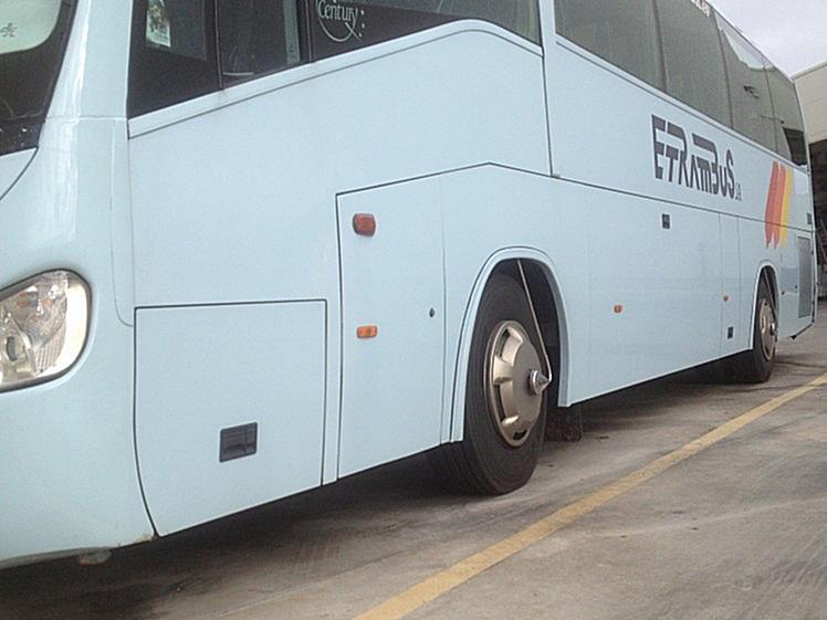 Autobús de ETRAMBUS con sistema VIGIA