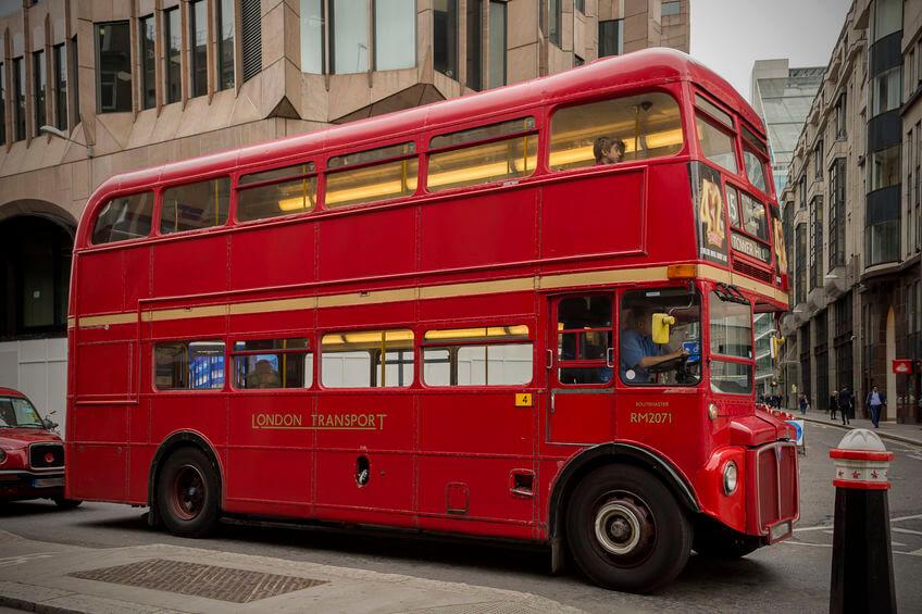 autobuses de londres los routemasters