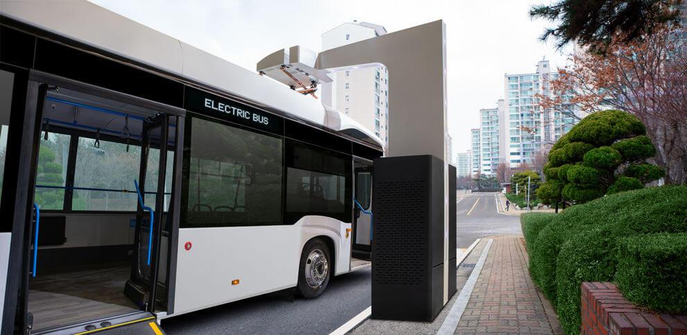 autobuses eléctricos de carga rápida