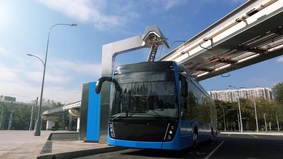 autobuses eléctricos troleobús